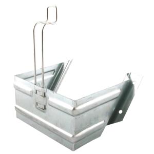 Support de cale de roue galvanisé pour cale de roue acier (PL)