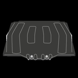 Couvercle de batterie pour MAN TGA/TGL/TGM