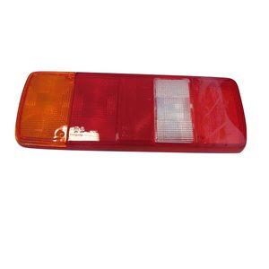 Cabochon de feu arrière gauche / droit sans catadioptre pour MAN - 81252296005.