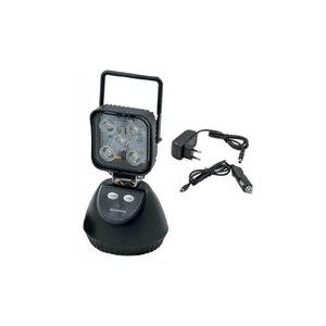 Phare de travail LED autonome, magnétique, rechargeable