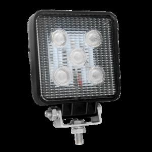 Phare de travail LED carré 1200 lumens 10-30volts, pour camions PL