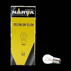 Ampoule 24V P21/5W BAY15d pour véhicules poids lourds