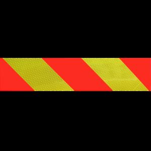 Jeu 2 plaques de balisage arrière adhésives ECE 70-01