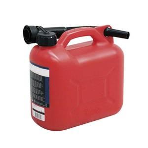 Bidon 5L plastique homologué RID / ADR pour pétrole