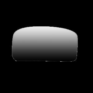 Glace antéviseur dégivrante universelle 315x185mm