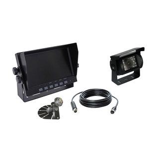 Kit caméra de recul filaire : 1 moniteur + 1 caméra + 1 câble + 2 supports