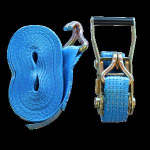 Sangles d'arrimage auto utilitaire 3.5m, 25mm avec crochets rapprochés