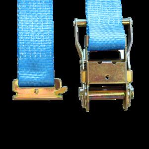 Sangles d'arrimage auto utilitaire, 3.5m, 35mm, 3,5T avec attache rail