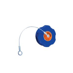 Capuchon bleu pour prise de sonde