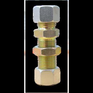 Traversée de cloison 18x1,5 D12, raccord pour circuit air comprimé PL