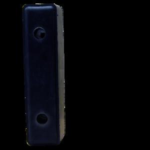 Butoir de quai, tampon caoutchouc (acier) pour camions et remorques - Ref : 85002