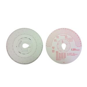 Disques tachy sans compte-tour pour chronotachygraphe x100, 125km/h