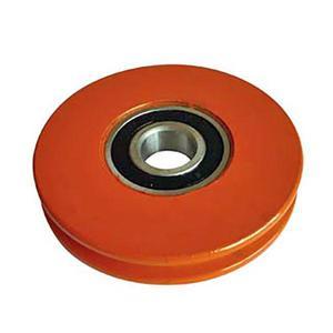 Poulie arrière diamètre 100 mm pour bâchés
