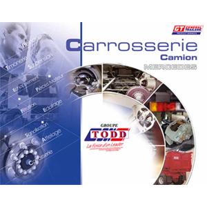 Couverture catalogue carrosserie pour MERCEDES