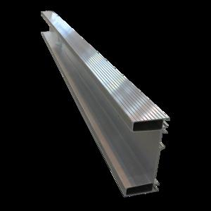 Profil Pare-Chocs Nu 2,3 mètres pour remorque PL, semi-remorque