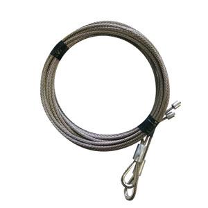 Câbles de porte relevante droit et gauche, longueur 3300mm